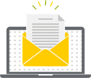 Envelope icon to represent company culture communication